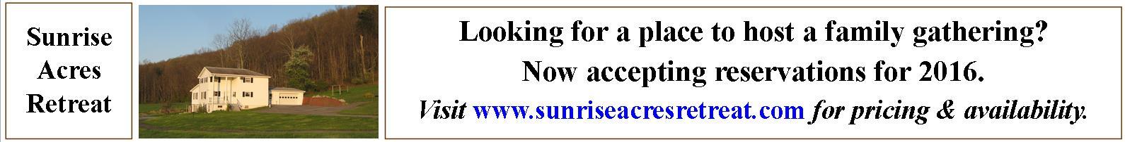 Sunrise Acres Retreat
